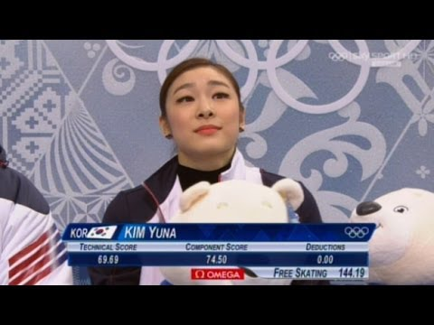 Yuna Kim | WINS GOLD | Free Skating | 2014 Sochi Winter Olympics | Full Video