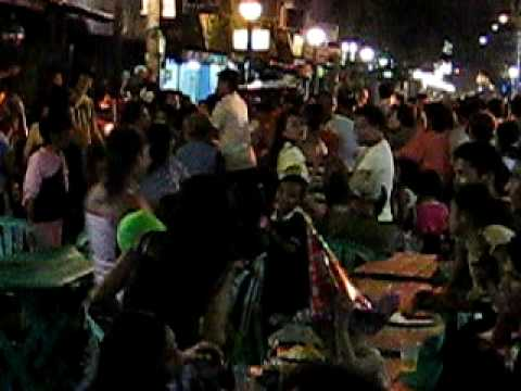 Street Party on New Years' Eve in Manila