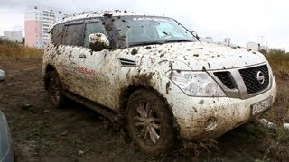 Nissan. Off-Road.Test-Drive.