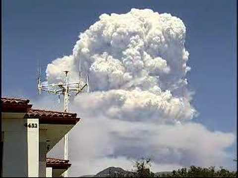 Zaca Fire Time Lapsed Video 08/14/07