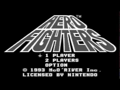 GameRETROplay - AERO FIGHTERS super fast play