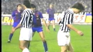 19/03/1986 Juventus v Barcelona