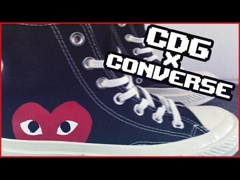 РАСПАКОВКА CONVERSE X CDG + ВАЖНЫЕ НОВОСТИ!