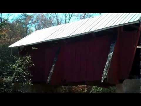 Historic Campbell's Covered Bridge / Upstate SC / Greenville SC