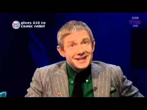Martin Freeman on Graham Norton March 7th 2013 - YouTube