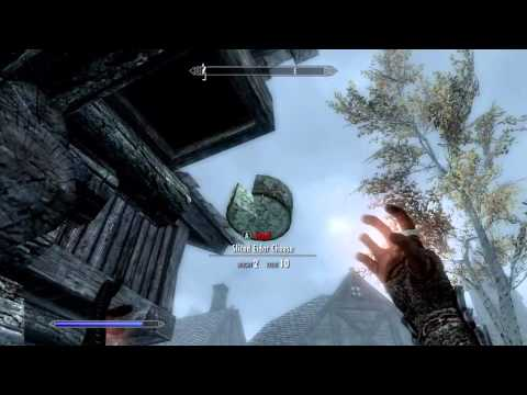 Skyrim: How to get TELEKINESIS! (Unique Spells #1)   Apprentice Alteration