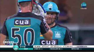 Watch all 11 sixes from Lynn, McCullum   Big Bash League BBL
