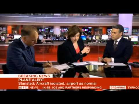 British Fighter Jets Escort Pakistani Plane To Stansted Airport - 24 May 2013