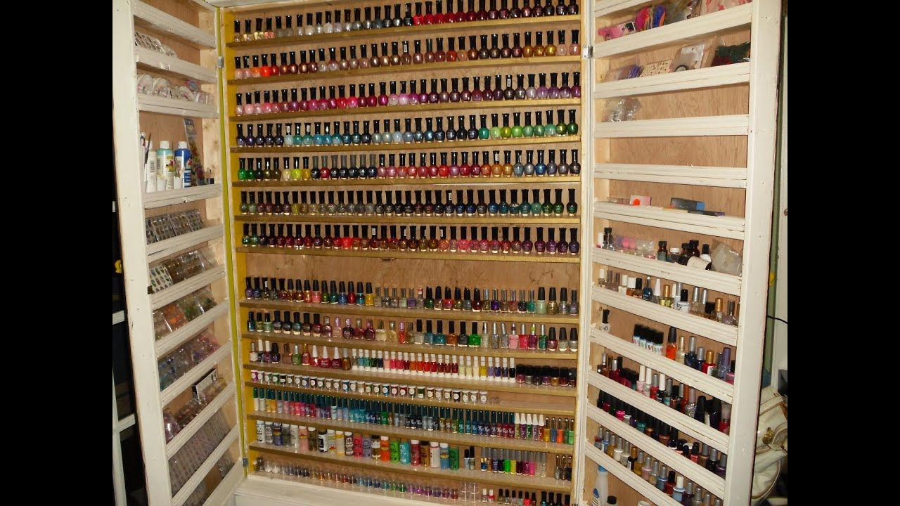 2012 Nail Polish Nail Art Collection Storage Inside