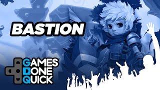 Bastion Speedrun in 15 minutes - GameSpot Done Quick