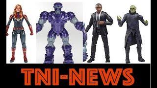 "TNINews: Marvel Legends 6"" MCU Captain Marvel Movie Figures Revealed And First Trailer Update"