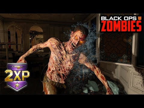 DOUBLE WEAPON XP WEEKEND FOR ZOMBIES! (Black Ops 4 Zombies)