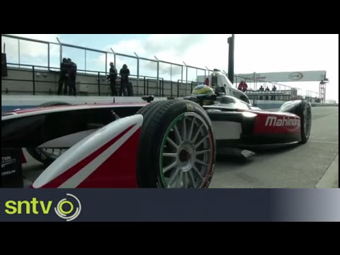 Formula E's electric cars prepare for debut