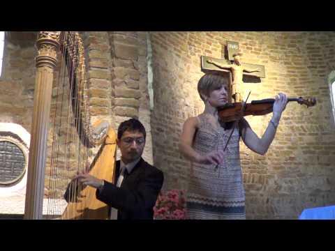 Wagner Bridal Chorus (Wedding march) from Lohengrin Jenni Kuronen, violino Antonio Ostuni, arpa
