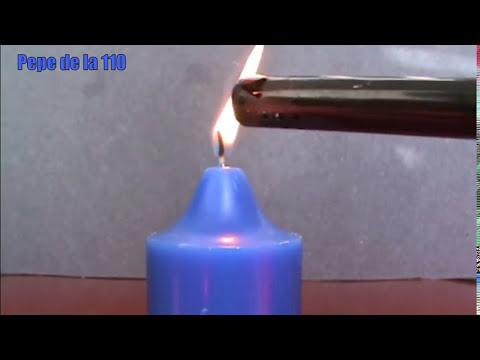 Como Encender la Vela Sin Contacto del Fuego