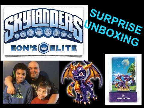 SKYLANDERS EON'S ELITE Spyro Unboxing and Gameplay