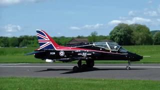 Turbine RC Model Jet British Aerospace Hawk UK Royal Air Force
