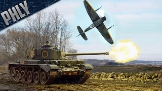 A34 COMET & 47mm CANNON TEMPEST (War Thunder Tanks Gameplay)