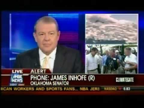 Inhofe Announces Climategate Investigation on Fox News