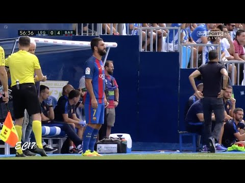 Arda Turan vs Leganes (Away) (17/09/2016) 720p HD by EC17