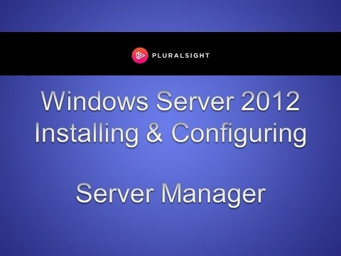 Configuring Your Local Server in Windows Server 2012
