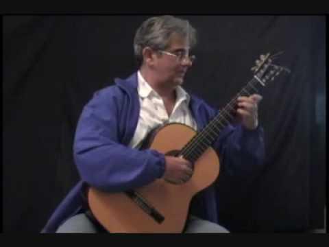 Burgalesa (FM Torroba) - Edson Lopes, guitar