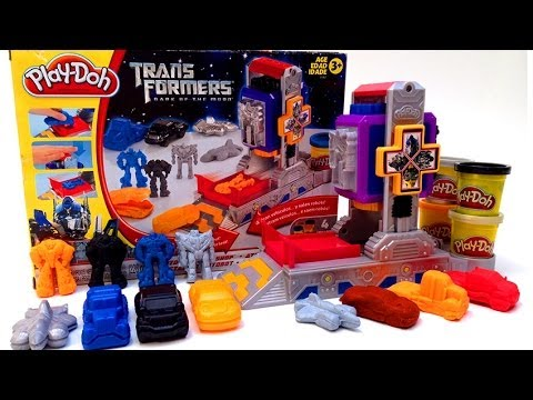 Play Doh Transformers Autobot Workshop Playset Hasbro Toys video