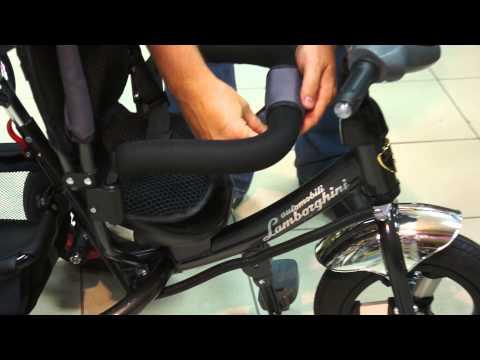 Детский трёхколёсный велосипед Lamborgini L2