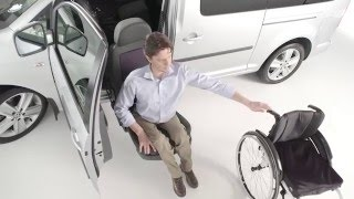 Wheelchair transfer to car with seat lift