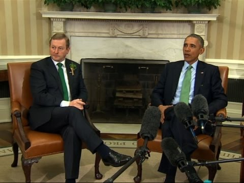 Obama, Ireland's Kenny Talk Britain Referendum