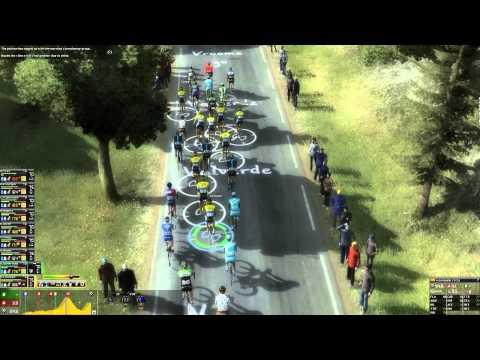 Pro Cycling Manager 2014 - Mountain Gameplay: Hautacam [720p]