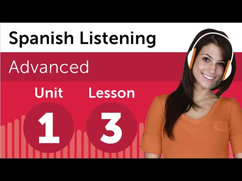 Spanish Listening Practice - At a Printing Company in Mexico