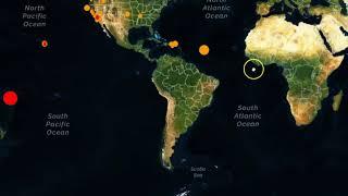 Super Deep M6.7 Earthquake Strikes Fiji Region, Mid Atlantic Ridge and Global Update