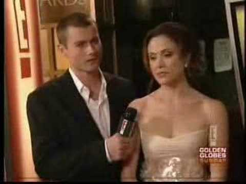 Reiko Aylesworth and James Badge Dale