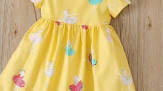 Latest and unique baby dress design one idea beautiful top style frock
