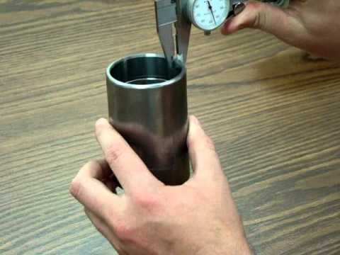 Omni Metalcraft Corp. Measuring Tube Thickness