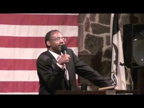 Ben Carson's First Iowa Speech