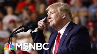 President Donald Trump Warns Crowd 'No Choice But To Vote For Me' At Rally | Velshi & Ruhle | MSNBC