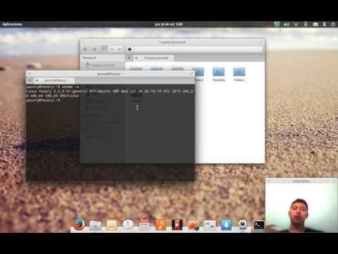 REVIEW Elementary OS Luna 2014, NOVEDADES, Interfaz Sistema Operativo 2014