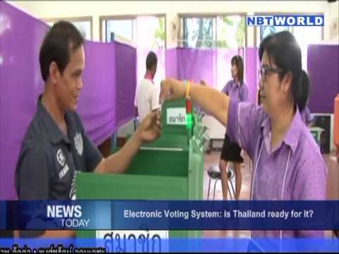 Electronic Voting System: Is Thailand ready for it?