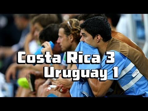No Suarez, No Victory For Uruguay [Uruguay vs. Costa Rica Recap]