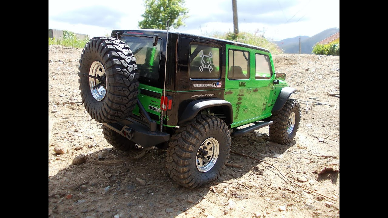 Axial Scx10 Jeep Wrangler Unlimited Rubicon Kit Part 2