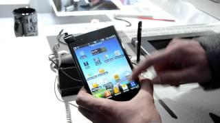 Мини-обзор LG Optimus Vu от Droider.ru [MWC 2012]