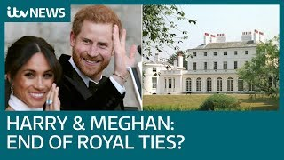 How can Harry and Meghan be financially independent while 'quitting' royal family? | ITV News