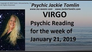 VIRGO Psychic Reading for the week of January 21, 2019