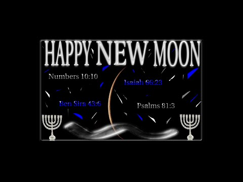 """ISRAEL/NEW MOON"" LAW LIFE: NEW MOON LESSONS"