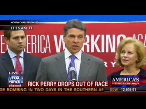 Governor Rick Perry Endorses Newt Gingrich