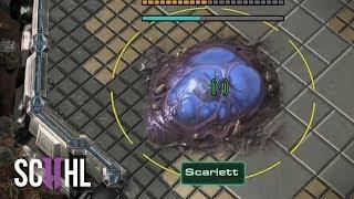 Three PROXY Hatcheries?! - Starcraft 2: Scarlett vs herO