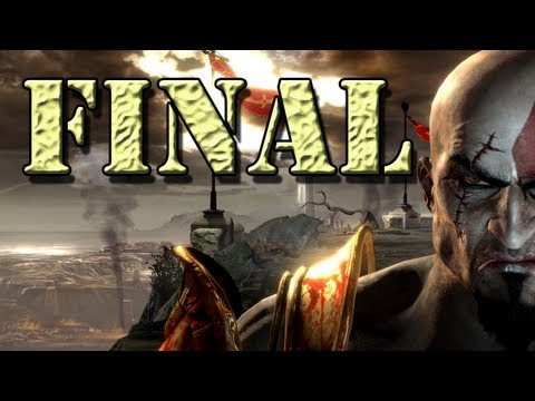 God of war 1 final - Kratos vs Ares - parte 32