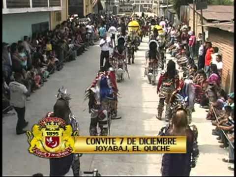 CONVITE 7 DE DICIEMBRE, JOYABAJ EL QUICHE